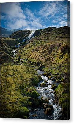 Calmness At The Falls Canvas Print