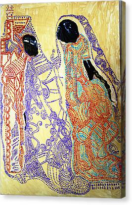 Calvary Canvas Print by Gloria Ssali