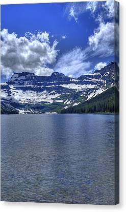 Cameron Lake Reflections Canvas Print