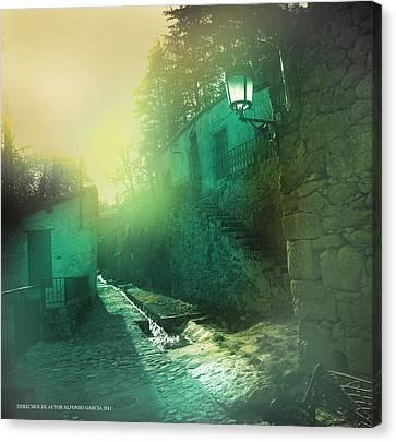 Canvas Print featuring the photograph Camino A La Huerta by Alfonso Garcia