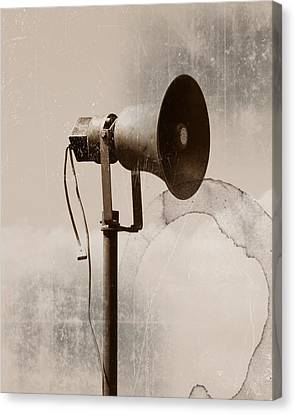 Can You Hear Me.... Canvas Print