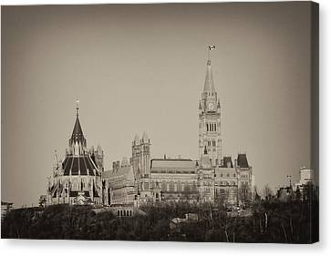 Canadiana Canvas Print by Josef Pittner