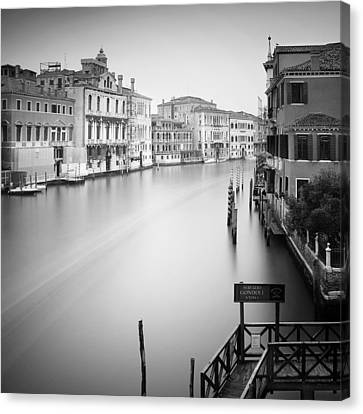 Canal Grande Study Iv Canvas Print by Nina Papiorek