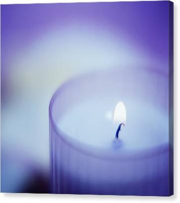 Candle Canvas Print by Cristina Pedrazzini