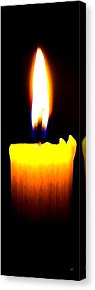Candle Power Canvas Print by Will Borden
