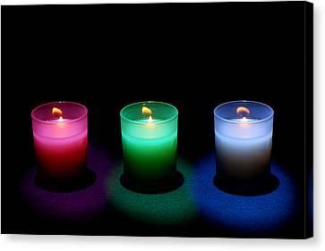 Candles Canvas Print by Cale Best