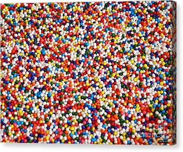 Candy Balls Canvas Print by Methune Hively
