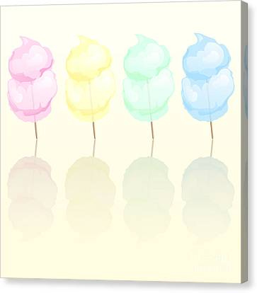 Candy Floss Canvas Print by Jane Rix