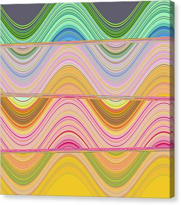 Abstract Canvas Print - Candy Land by Ricki Mountain