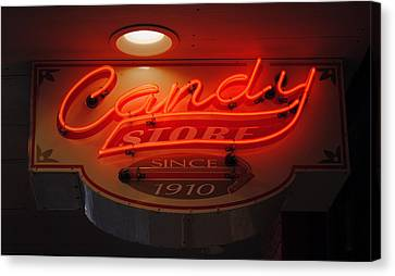 Candy Canvas Print by Skip Willits