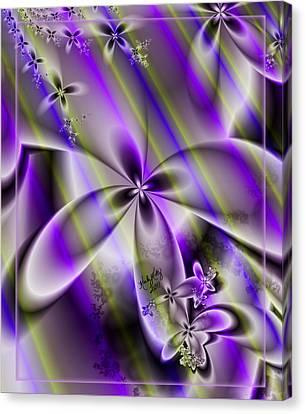 Candy Stripes Canvas Print by Karla White