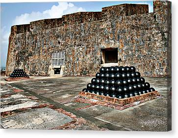 Fort San Cristobal, Cannon Embrasures, Canvas Print by Gilbert Artiaga