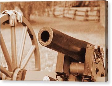 Cannon Ready Canvas Print by Jonathan Bateman