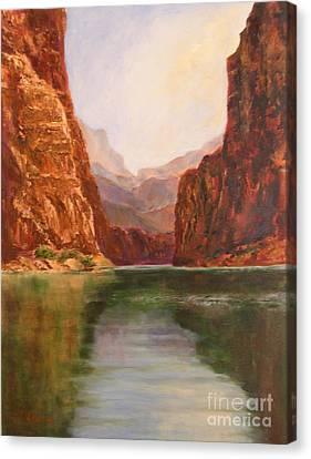 Canyon Dreams Canvas Print by Alice Gunter
