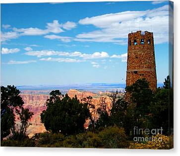 Canyon Look Out Canvas Print by The Kepharts