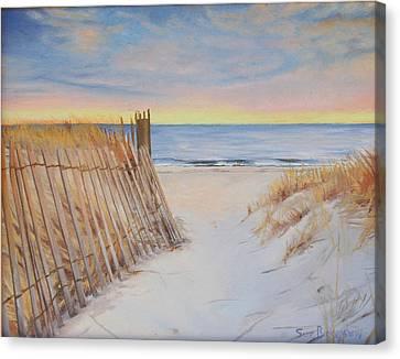 Cape Beach Canvas Print by Sue Birkenshaw
