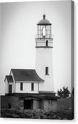 Canvas Print featuring the photograph Cape Blanco Beacon by Kevin Munro