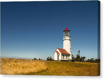 Canvas Print featuring the photograph Cape Blanco Lighthouse by Randy Wood