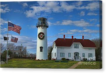 Chatham Canvas Print - Cape Cod Chatham Lighthouse by Gina Cormier