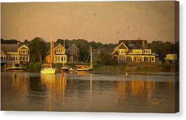 Cape Cod Canvas Print - Cape Cod Evening by Michael Petrizzo