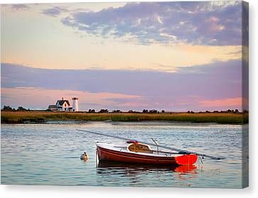Cape Cod Lighthouse Canvas Print by Betty Wiley