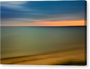 Cape Cod Sunset- Abstract  Canvas Print by Thomas Schoeller