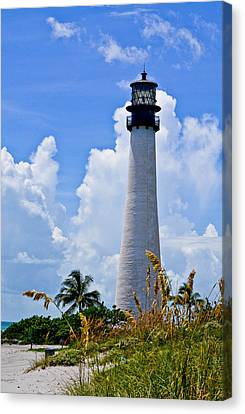 Cape Florida Lighthouse Canvas Print by Julio n Brenda JnB