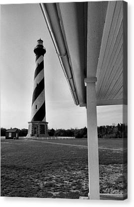 Cape Hatteras Lighthouse IIi Canvas Print by Steven Ainsworth