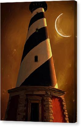 Cape Hatteras Canvas Print by Lourry Legarde