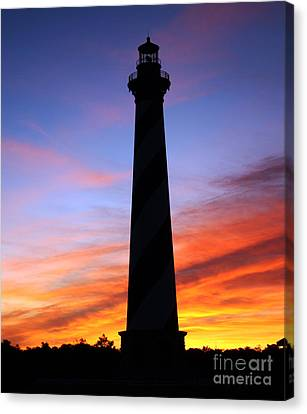 Cape Hatteras Sunset Canvas Print