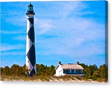 Cape Lookout  Canvas Print by Betsy Knapp