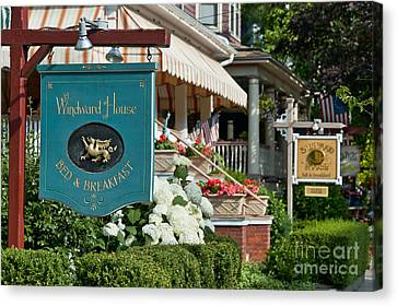 Cape May Bed And Breakfast Canvas Print by John Greim