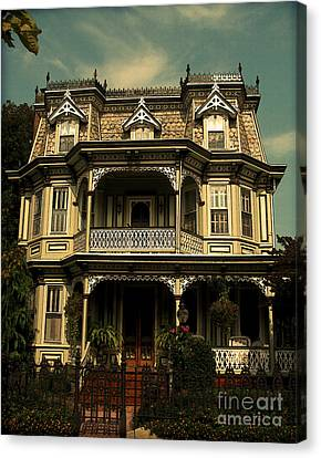 Cape May Painted Lady Canvas Print