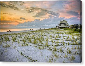 Cape San Blas Sunset Canvas Print