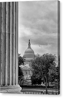 Capitol View Canvas Print by Boyd Alexander
