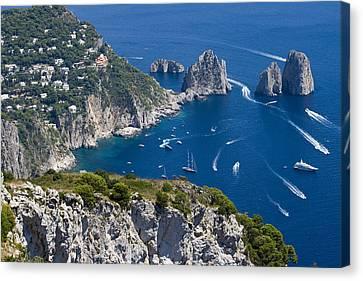 Capri Canvas Print by Francesco Riccardo  Iacomino