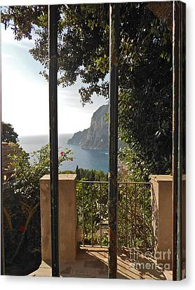 Capri Canvas Print