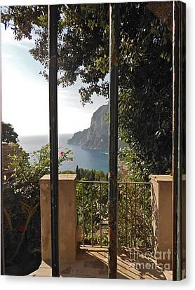 Capri Canvas Print by Italian Art