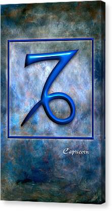 Capricorn  Canvas Print by Mauro Celotti