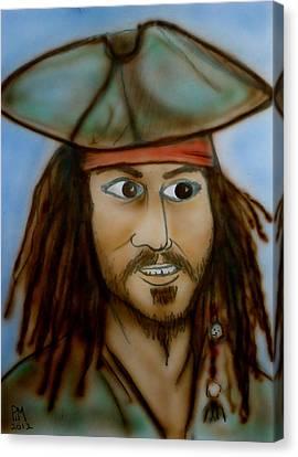 Capt. Jack Canvas Print by Pete Maier