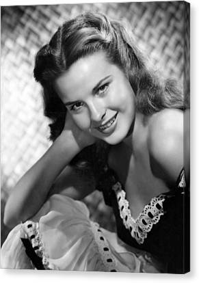 Captain From Castile, Jean Peters, 1947 Canvas Print by Everett
