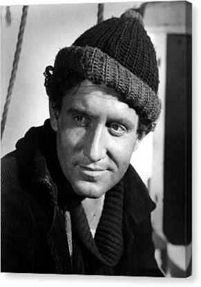 Captains Courageous, Spencer Tracy, 1937 Canvas Print by Everett