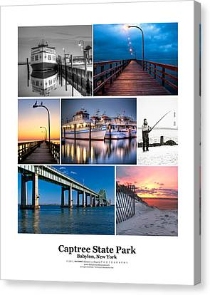 16x20 Canvas Print - Captree Poster by Vicki Jauron