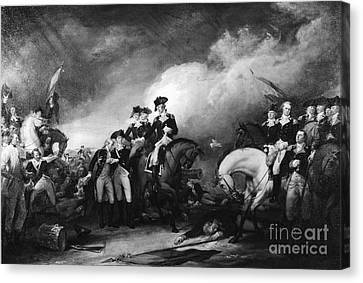 Capture Of The Hessians At Trenton Canvas Print