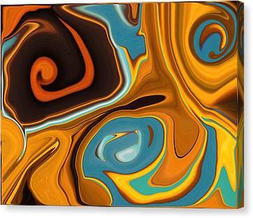 Caramel Dreams Canvas Print by Renate Nadi Wesley
