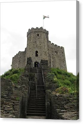 Cardiff Castle Canvas Print