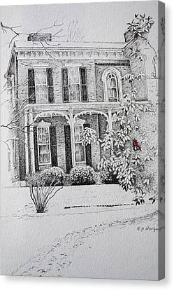 Cardinal Canvas Print by Patsy Sharpe