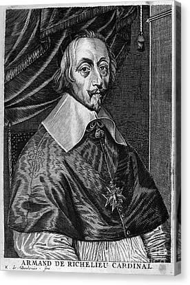 Cardinal Richelieu Canvas Print by Granger