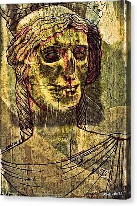 Cariatides Muertas II Canvas Print by Paulo Zerbato
