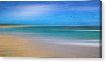 Caribbean Canvas Print - Caribbean Beach by Michael Petrizzo